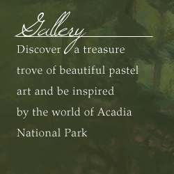 Gallery - discover a treasure trove of beautiful pastel art and be inspired by the world of acadia national park